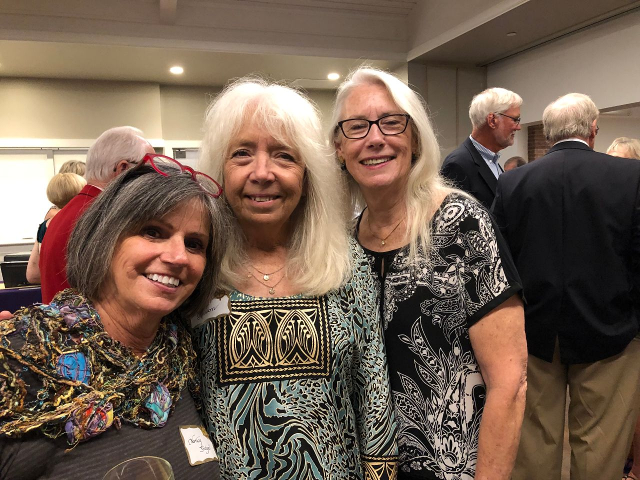 Nancy Siegel, Deb Gleason, Jan Symroski